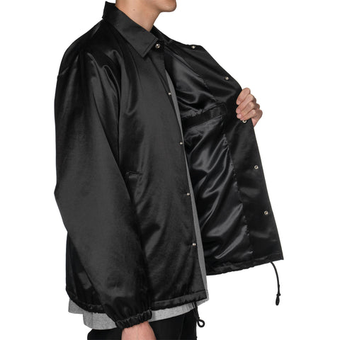 WTAPS Greasers / Jacket. Raco. Satin Black, Jackets