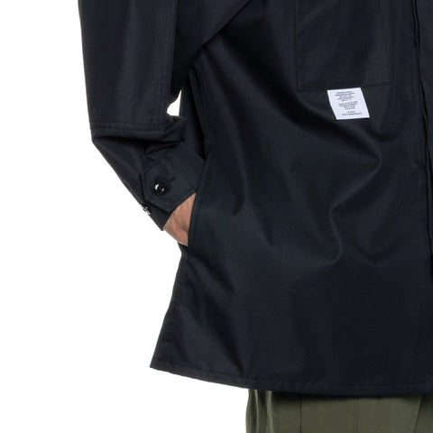 WTAPS Guardian / Jacket . Copo. Twill Black, Outerwear