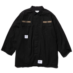 WTAPS Guardian / Jacket . Cotton . Ripstop Black, Outerwear