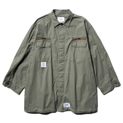 WTAPS Guardian / Jacket . Cotton . Ripstop Gray, Outerwear
