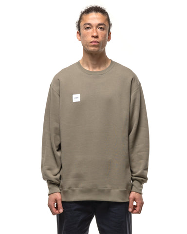 WTAPS Home Base / Crew Neck / Copo Olive Drab, Sweaters