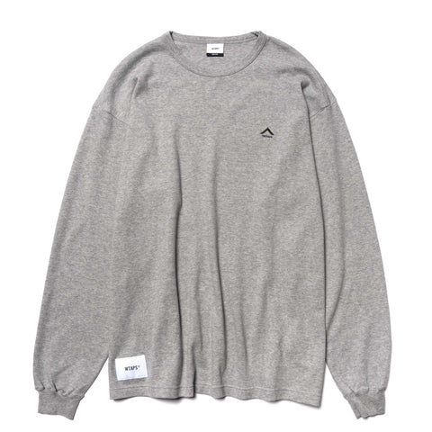 WTAPS Humvee . Design LS 02 / Tee . Cotton Gray, T-Shirts