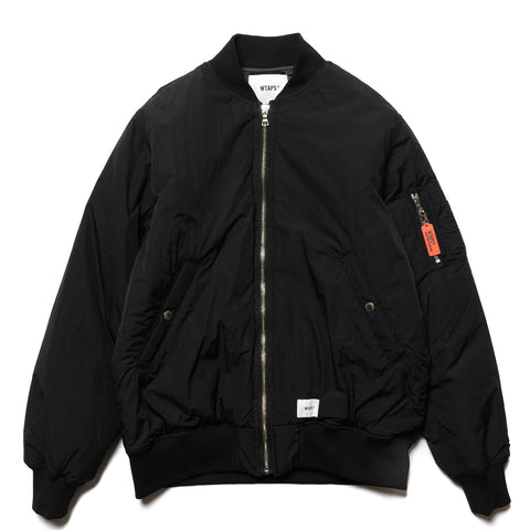 WTAPS I Am / Jacket. Nylon. Taffeta Black, Jackets
