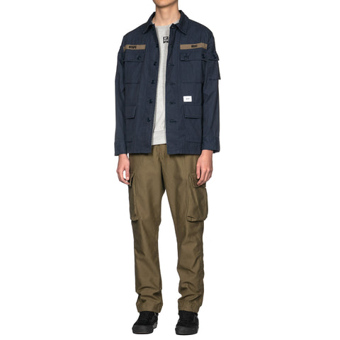 WTAPS Jungle England 01 / Trousers. Cotton. Satin Olive Drab, Bottoms