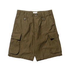 WTAPS Jungle England Shorts 01 / Shorts. Cotton. Satin Olive Drab, Shorts