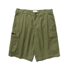 WTAPS Jungle Shorts / Shorts. Cotton. Serge Olive Drab, Bottoms