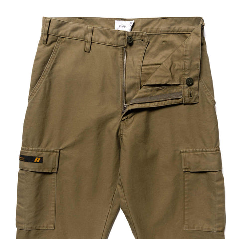 WTAPS Jungle Stock 01 / Trousers . Cotton . Satin Olive Drab, Bottoms