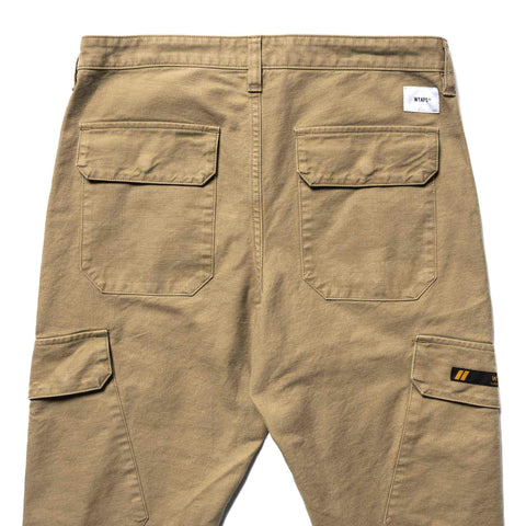 WTAPS Jungle Skinny / Trousers. Cotton. Serge Beige, Bottoms