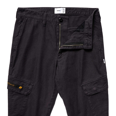 WTAPS Jungle Skinny / Trousers. Cotton. Serge Black, Bottoms