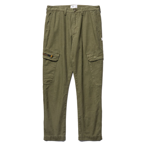 WTAPS Jungle Skinny / Trousers. Cotton. Serge Olive Drab, Bottoms