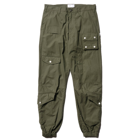WTAPS Modular 01 / Trousers . Cotton . Ripstop Olive Drab, Bottoms