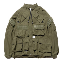 WTAPS Modular / Jacket. Cotton. Weather Olive Drab, Jackets