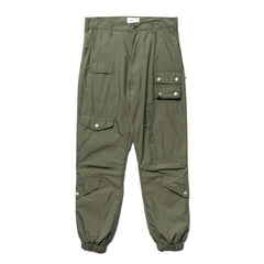 WTAPS Modular / Trousers. Nyco. Typewriter Olive Drab, Bottoms