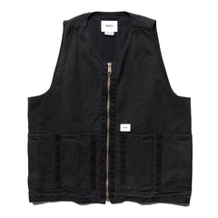 WTAPS Rack / Vest . Cotton . Oxford Black, Outerwear