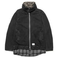 WTAPS Salinger / Jacket. Cotton. Denim Black, Jackets