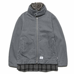 WTAPS Salinger / Jacket. Cotton. Denim Gray, Jackets