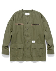 WTAPS Scout / LS / Cotton. Ripstop Olive Drab, Shirts