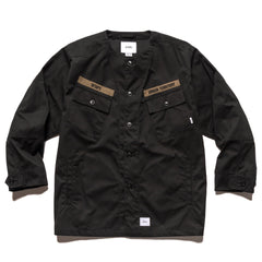 WTAPS Scout / LS / Cotton. Weather Black, Shirts