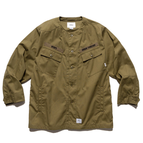 WTAPS Scout / LS / Cotton. Weather Olive Drab, Shirts