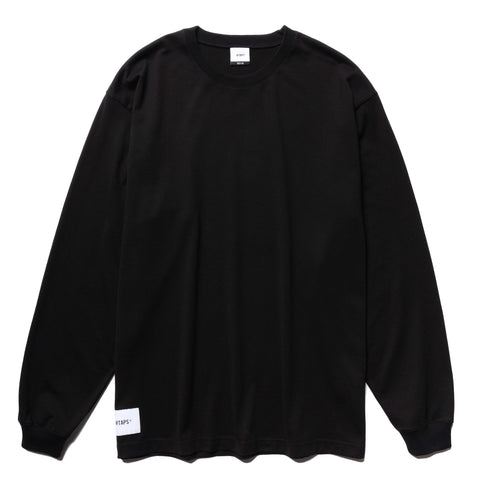 WTAPS Sign. Design LS 02 / Tee. Copo Black, T-Shirts