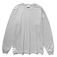 WTAPS Sign. Design LS 02 / Tee. Copo Gray, T-Shirts