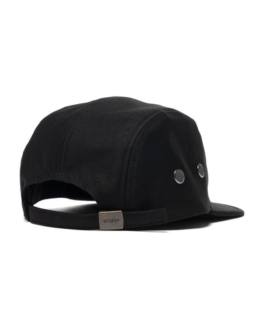 WTAPS T-5 01 / Cap / Cotton. Satin Black, Headwear