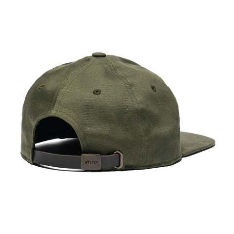 WTAPS T-6 01 / Cap . Cotton. Twill Olive Drab, Headwear