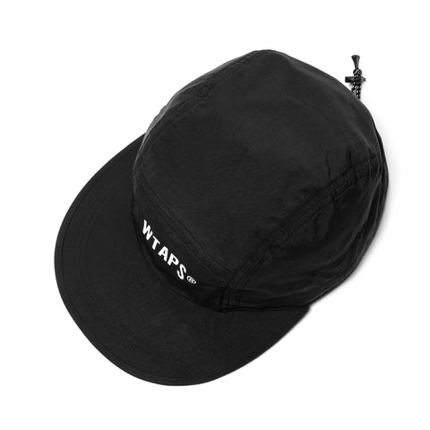 WTAPS T-7 02 / Cap . Nylon . Tussah . Supplex Black, Headwear