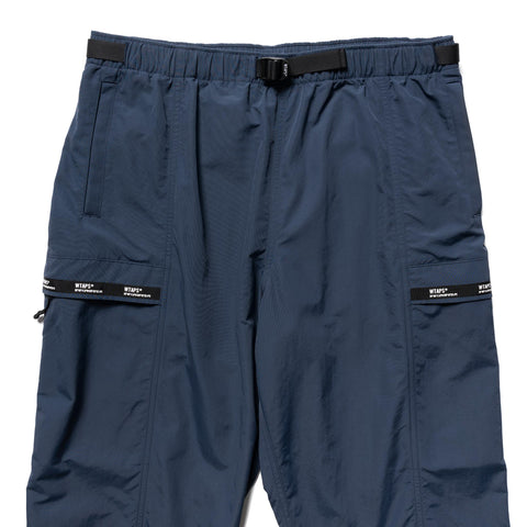 WTAPS Tracks / Trousers . Nylon . Tussah . Supplex Navy, Bottoms