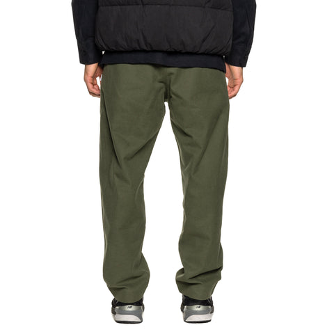 WTAPS Tuck / Trousers / Cotton. Flannel Olive Drab, Bottoms