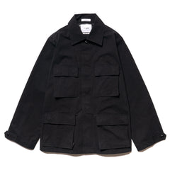 WTAPS MILL Jungle LS / Shirt. Nyco. Ripstop Black, Tops
