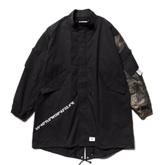 WTAPS W51 / Jacket . Cotton. Weather Black, Outerwear