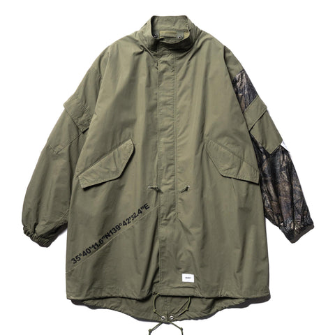 WTAPS W51 / Jacket . Cotton. Weather Olive, Outerwear