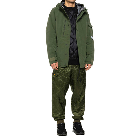 WTAPS WLT / Trousers . Nylon . Ripstop Olive Drab, Bottoms