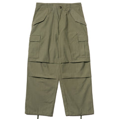 WTAPS MILL-65 / Trousers. Nyco. Satin Olive Drab, Bottoms
