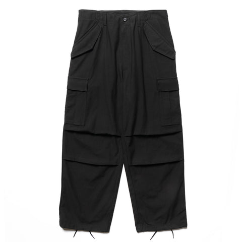WTAPS WMill-65 / Trouser / Trousers . Nyco . Satin Black, Bottoms