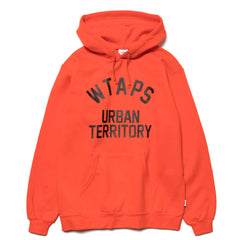 WTAPS WUT / Sweatshirt. Cotton. Orange, Sweaters