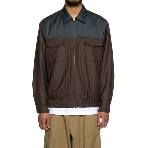 WACKO MARIA 50's Jacket (Type-4) Brown, Outerwear