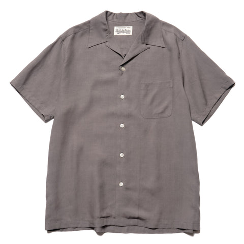 WACKO MARIA 50s Shirt S/S (Type-6) Gray, Tops