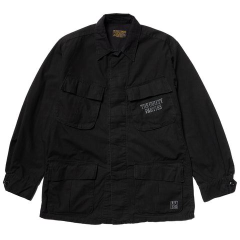 WACKO MARIA Fatigue Jacket (Type-4) Black, Outerwear