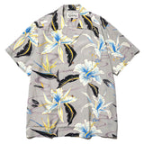 Hawaiian Shirt S/S (Type-8) Gray