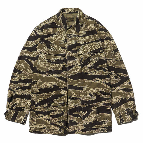 wacko aria Jungle Fatigue Jacket (Type-4) Tiger Camo