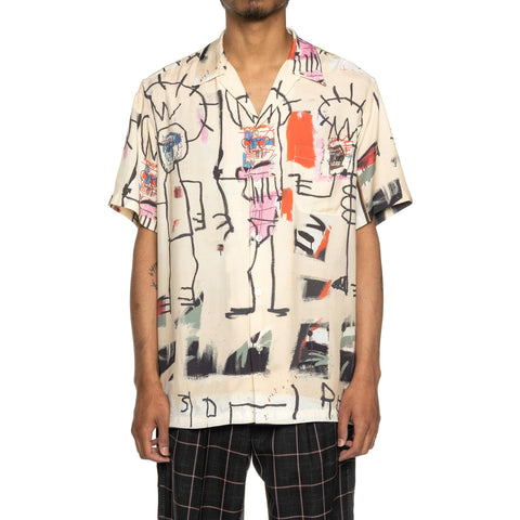 WACKO MARIA Jean-Michel Basquiat / S/S Hawaiian Shirt (Type-3) One, Shirts