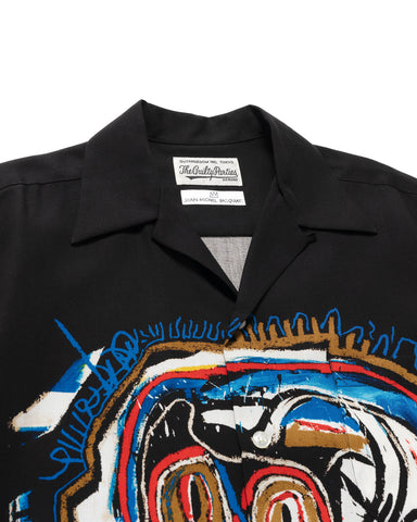 WACKO MARIA Jean-Michel Basquiat S/S Hawaiian Shirt (Type-1) Black, Shirts