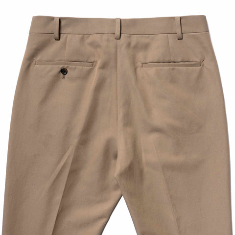 WACKO MARIA Pleated Trousers (Type-1) Beige, Bottoms