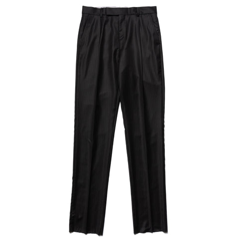 WACKO MARIA Pleated Trousers (Type-2) Black-Pink, Bottoms