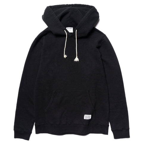 Wacko Maria Pullover Hooded Sweat Shirt (Type-3) Black, Sweaters