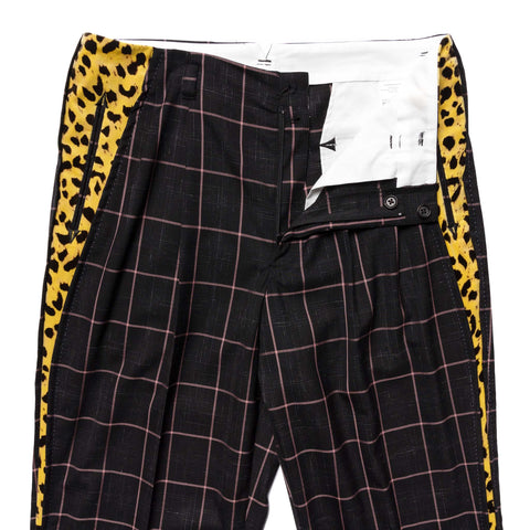 WACKO MARIA Wolf's Head / Rockabilly Pants (Type-1) Black, Bottoms