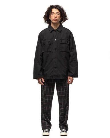 WACKO MARIA x Tim Lehi Army Shirt (Type-2) Black, Shirts