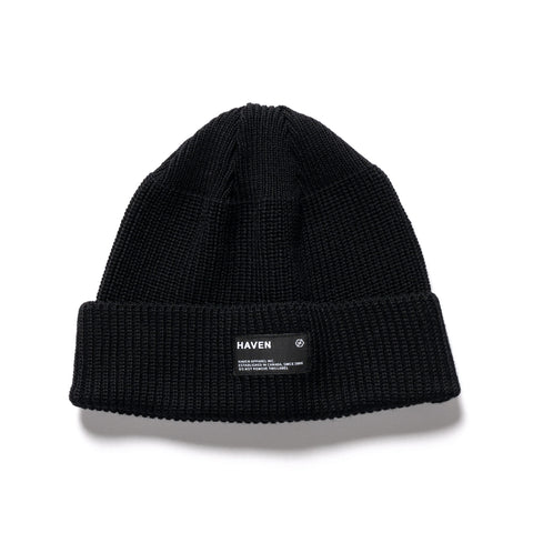 HAVEN Watch Cap - Wool Black, Headwear